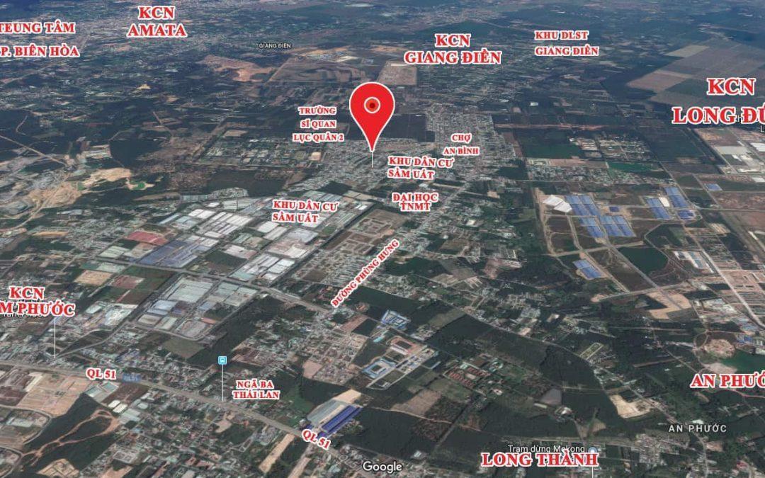 Đất nền trung tâm KDC Tam Phước Tp. Biên Hòa