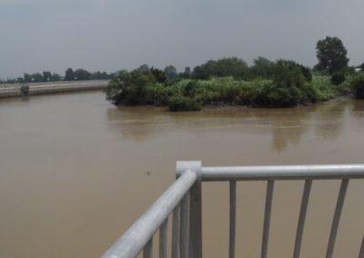 Bờ kè sông Trong
